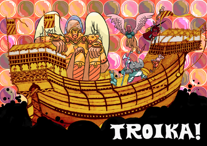 Troika! limited edition preorder